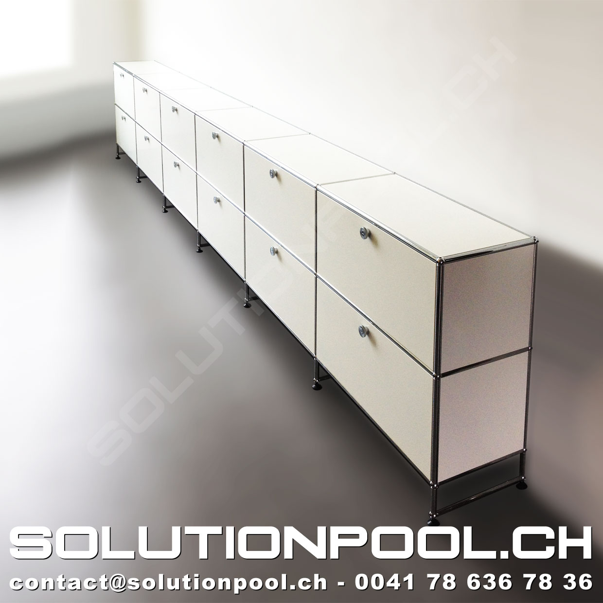 usm sideboard wei usm occasion solutionpool. Black Bedroom Furniture Sets. Home Design Ideas